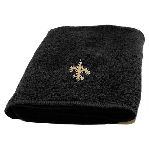 New Orleans Saints Nfl Applique Bath Towel