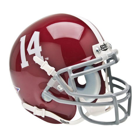 Alabama Crimson Tide Ncaa Authentic Mini 1-4 Size Helmet