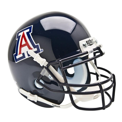 Arizona Wildcats Ncaa Authentic Mini 1-4 Size Helmet
