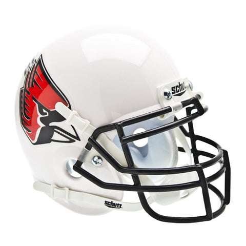 Ball State Cardinals Ncaa Authentic Mini 1-4 Size Helmet