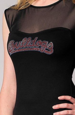 Fresno State Bulldogs Ncaa Mesh Contrast Top (small)