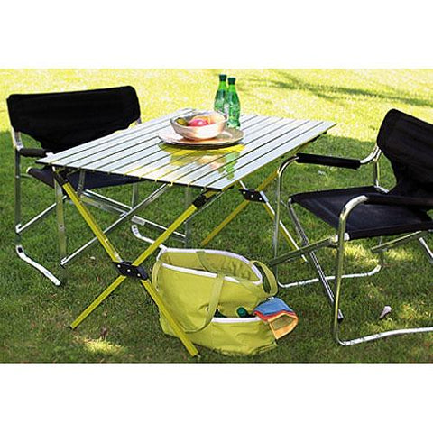 Table In A Bag Lt4327g Large Tall Aluminum Portable Table With Carrying Bag, ...