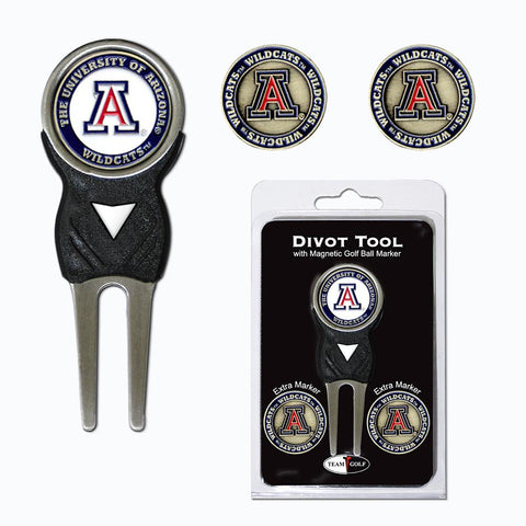 Arizona Wildcats Ncaa Divot Tool Pack W-signature Tool