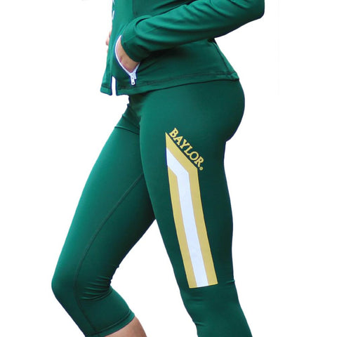 Baylor Bears Ncaa Womens Yoga Pant (green) (x-small)