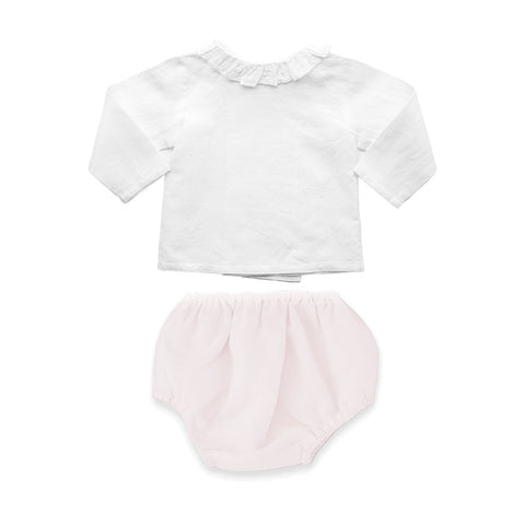 Gift set | Blossom Pink Bloomer and Blouse