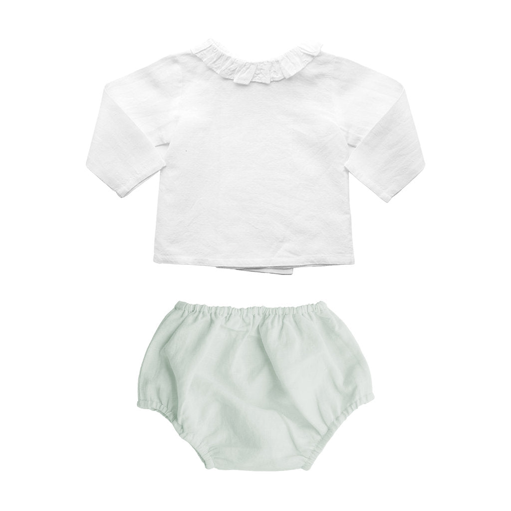 Gift set | French grey bloomer and blouse