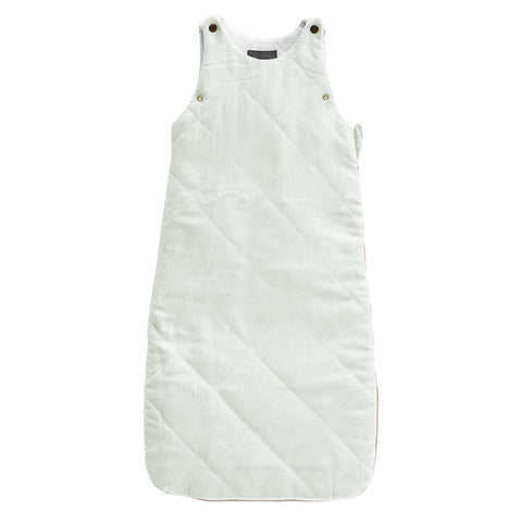 PRE ORDER - QUILTED LINEN Sleeping bag | French grey | year round weight 2.5 TOG