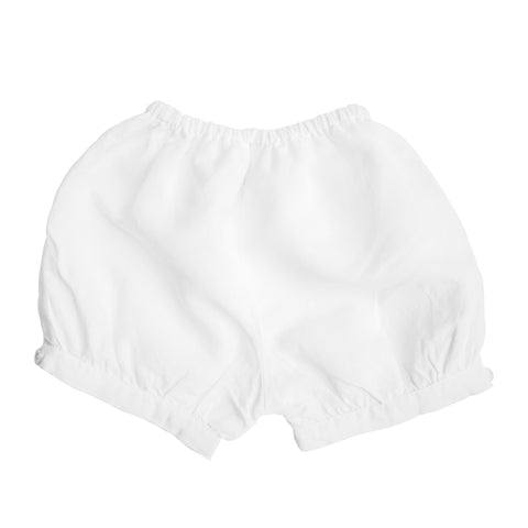 Boys short | White linen