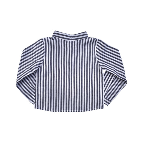 Boys French collar shirt | Harbor Island Stripe
