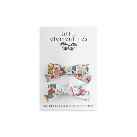 "Liberty of London ""Betsy"" Bow Set by Little Clementines"