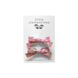 "Liberty of London ""Tatum"" Bow Set by Little Clementines"