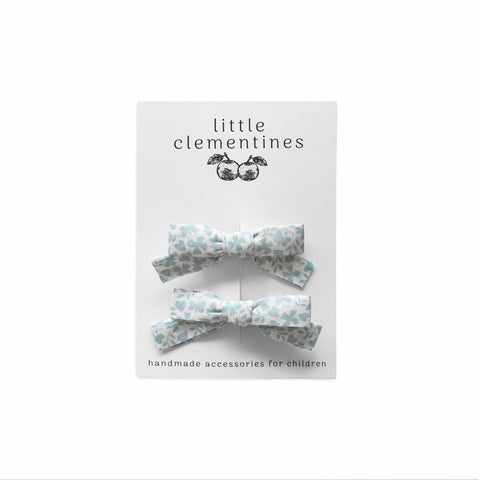 "Liberty of London ""Gracey"" Bow Set by Little Clementines"