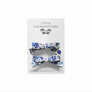 Liberty of London 'Emma and Georgina' Bow Set by Little Clementines