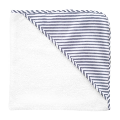 Hooded towel | Harbor Island stripe