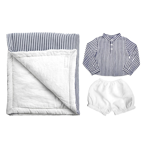 PRE ORDER | Playtime Gift Set | French Grey Linen