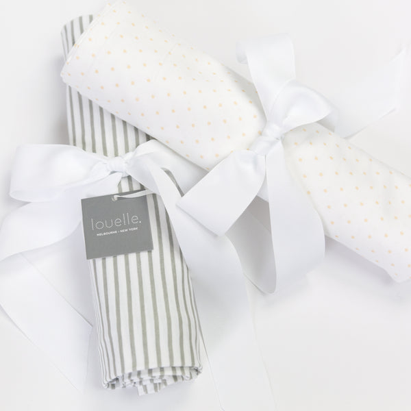 Swaddle | Buttercup and white spot