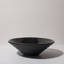 FORMA-2. - BLACK CERAMIC BOWL