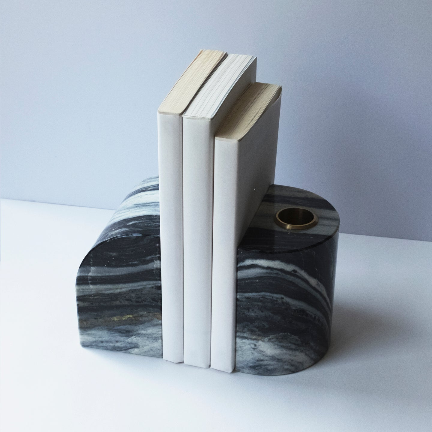 FORMA-7. - MARBLE BOOKENDS