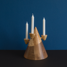FORMA-5. - WOOD CANDLE HOLDER