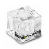 BrowXenna Glass Dappen Dish - Large Clear