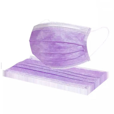 Disposable Face Mask - Lavender (50 pcs)