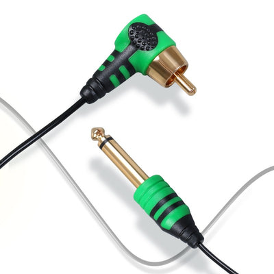 CLEARANCE ~ Budget Light-Weight RCA Cable - 90 Degree