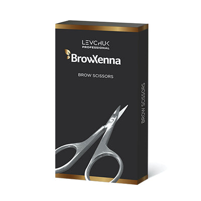 BrowXenna - Professional Eyebrow Scissors