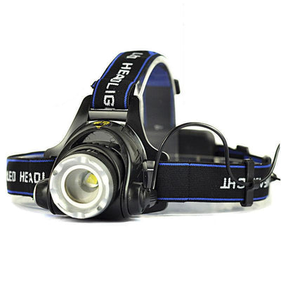 LED Headlamp (Rechargable) - 1800 lumens - Zoomable EB Microblading Cosmetic Tattoo SPMU PMU