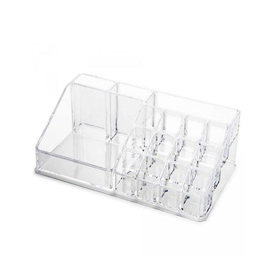 Acrylic Cosmetic Organiser - 16 Compartments
