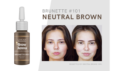BrowXenna - Henna Kit with Tweezers - Select your colour