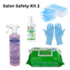 Back-to-Business: Salon Safety Kit #2 - 500mL Spray Viraclean - Extra Box of Masks Free!
