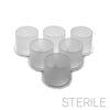 HALF PRICE ~ Sterile No-Spill Pigment Cups - Large (50/100 pcs)