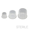 HALF PRICE ~ Sterile No-Spill Pigment Cups - Medium (50/100 pcs)