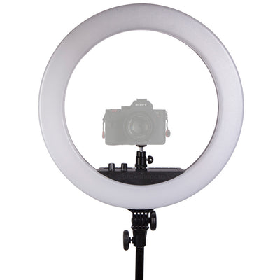 "Spectrum Aurora 18"" LED Pro Ring Light Kit - Diamond Luxe II"