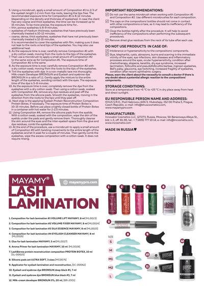 Mayamy Lash Lamination Kit (+2 Bronsun Dye Colours!!)