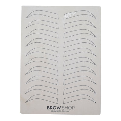 Brow Shop- Eyebrow Outline Inkless Practice Pad (19.4x14.3cmx0.5mm)