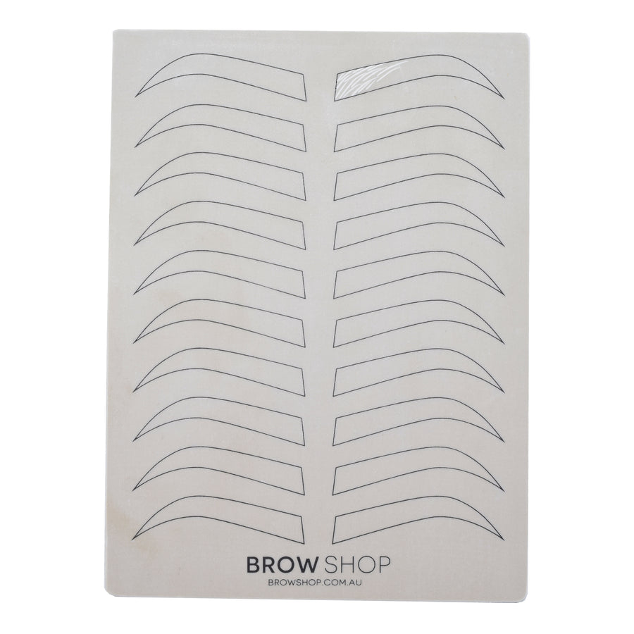 This is a photo of Intrepid Free Printable Eyebrow Stencils Pdf