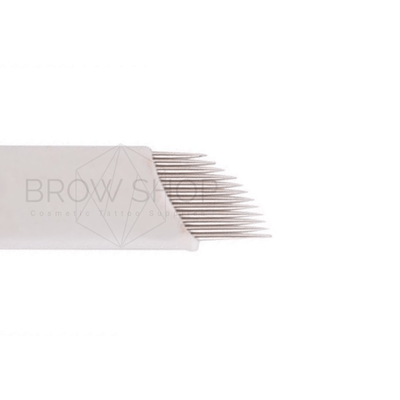 Free Samples Discontinued 12 pin Curved Flex - Brow Shop Microblades (1) Microblading Cosmetic Tattoo SPMU PMU