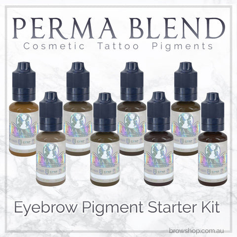 Perma Blend Pigments - Eyebrow Starter Kit