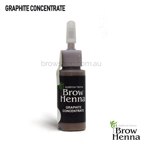 Brow Henna Graphite Modifier Individual Bottle 10ml Brow Shop