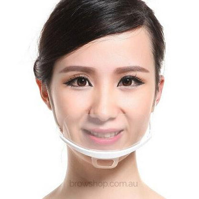 Clear Medical Face Masks (10 pcs) LB Microblading Cosmetic Tattoo SPMU PMU