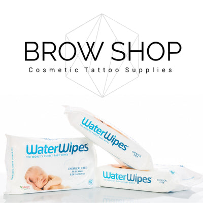 Waterwipes Hypoallergenic Facial Wipes (60 wipes) Waterwipes (Marzena) Microblading Cosmetic Tattoo SPMU PMU