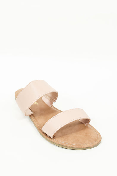 Jeans Warehouse Hawaii - FLATS SLIP ON - SAY GOODBYE SLIDE | By REDSHOELOVER LLC