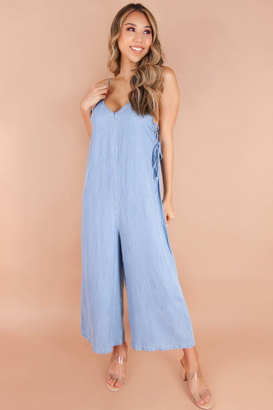 Jeans Warehouse Hawaii - SOLID CASUAL JUMPSUITS - GOOD JEANS JUMPSUIT | By LUXYUSA