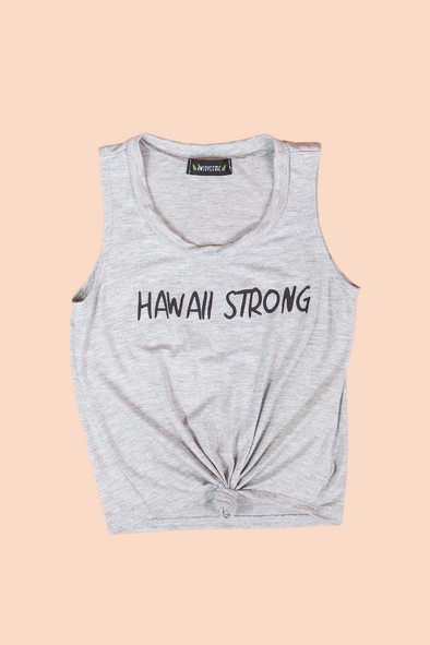 Jeans Warehouse Hawaii - S/L PRINT TOPS 2T-4T - HAWAII STRONG TOP | 2T-4T | By LUZ