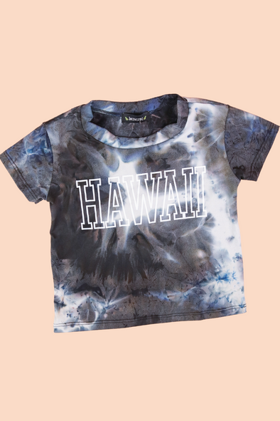 Jeans Warehouse Hawaii - S/S PRINT TOPS 4-6X - HAWAII TOP | 4-6X | By LUZ