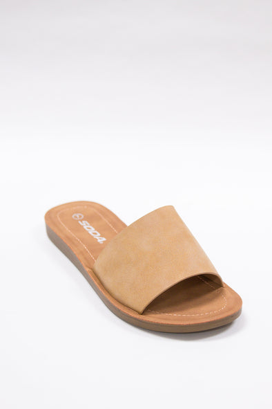 Jeans Warehouse Hawaii - FLATS SLIP ON - TAKE A MOMENT SLIDE | By FORTUNE DYNAMIC