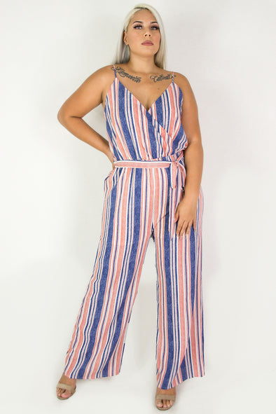 Jeans Warehouse Hawaii - PLUS PRINTED JUMPSUITS - SUGAR FREE JUMPSUIT | By ACTIVE USA