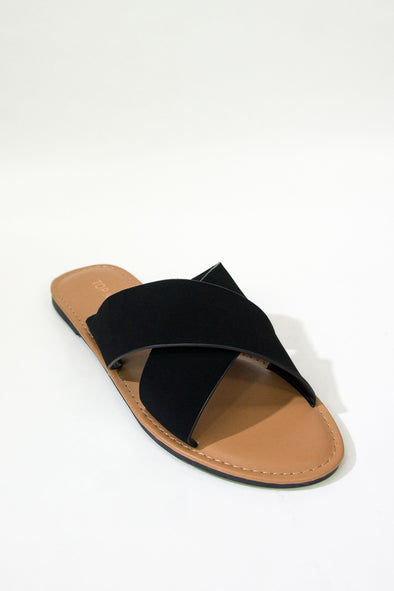 Jeans Warehouse Hawaii - FLATS SLIP ON - OUTSIDE THE LINES SLIDE | By TOP GUY INTL