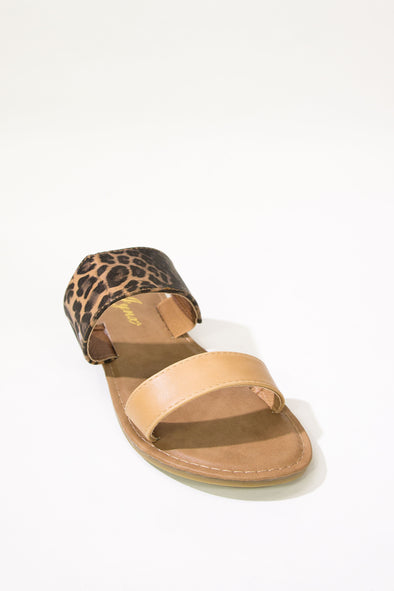 Jeans Warehouse Hawaii - FLATS SLIP ON - WILD CHILD SLIDE | By REDSHOELOVER LLC